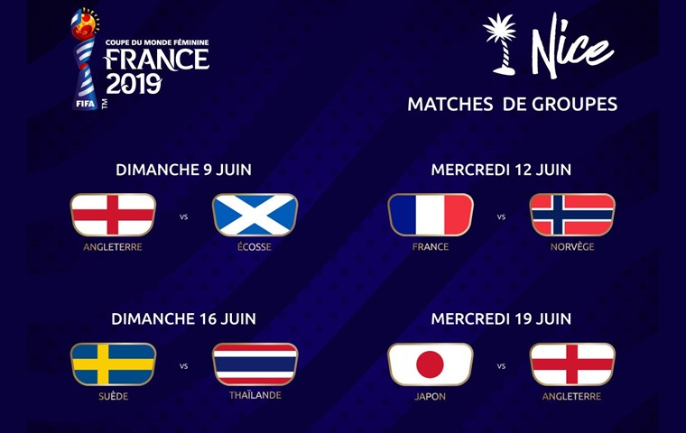 Calendrier Fifa 2019.Fifa Women S World Cup 4 Group Phase Games To Be Played In