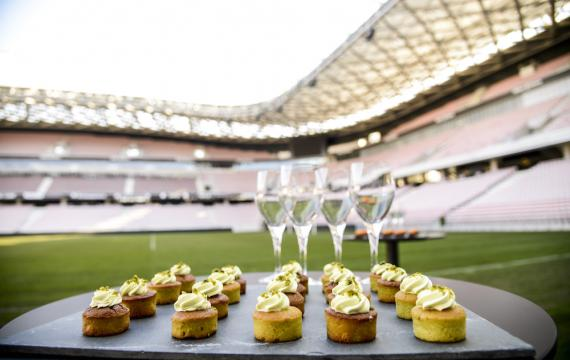 The Allianz Riviera has hosted 107 business functions hosting a total of more than 17,000 people